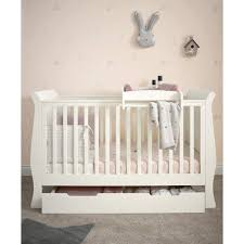 Sleigh Cot Bed Buy Mamas U0026 Papas Mia Sleigh Cot Toddler Bed Package Ivory