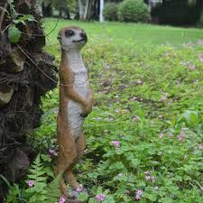 simulation resin meerkats animal garden ornaments garden ornaments