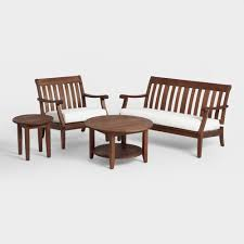 Outdoor Furniture Wood St Martin Outdoor Occasional Collection World Market