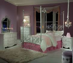 standard furniture princess canopy bed in silver metal beyond stores