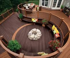 Wood Deck Design Software Free by Composite Decking Composite Deck Materials Trex