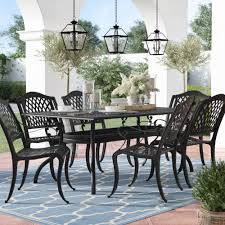 patio dining table and chairs patio dining sets you ll love wayfair