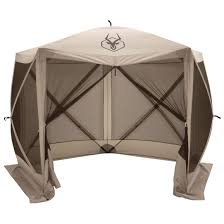 Pop Up Gazebos With Netting by Gazelle 5 Sided Portable Gazebo 666524 Screens U0026 Canopies At