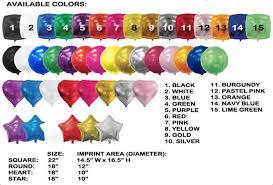 custom printed foil balloons creative balloons mfg inc