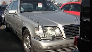 mercedes auctions 1998 mercedes s600l v12 36k lhd japanese auto auctions
