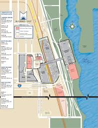 Chicago Ord Terminal Map by Getting There Neca Convention 2014