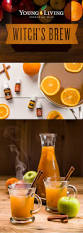 healthy halloween potion young living blog