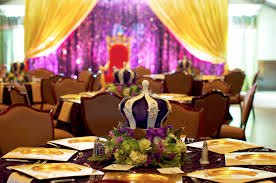 Royal Crown Centerpieces by Runway To Tabletop Feel Like Royalty Eventures