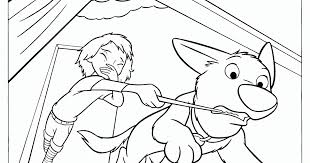 bolt coloring pages disney eliolera