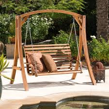 best selling home weyburn wood porch swing walmart com
