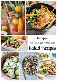 best salad recipes 11 all time best healthy salad recipes two healthy kitchens