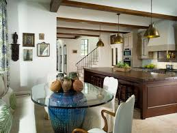 Kitchen Table Decorating Ideas 40 Glass Dining Room Tables To Revamp With From Rectangle To Square