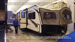 dutchmen kodiak ultra lite expandable 222es youtube