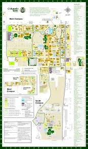 Map Of Colorado State by Colorado State University Parking Services