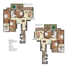 floor plan of prateek edifice sector 107 noida prateek buildtech