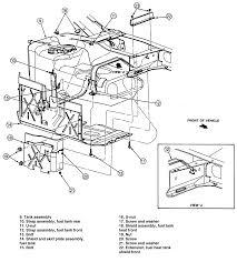 ford explorer fuel diagram 1999 ford explorer parts diagram