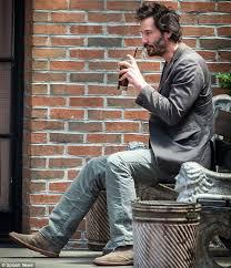 Keanu Meme - keanu reeves has a solitary drink outside his nyc hotel daily