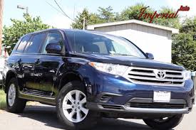 toyota highlander 2012 used 2012 used toyota highlander 4wd 4dr v6 at imperial highline