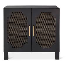nate berkus screen door nightstand black home decor ideas