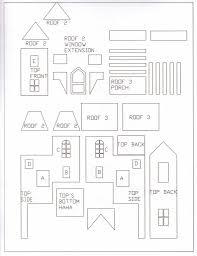 gingerbread house templates for christmas u2013 fun for christmas
