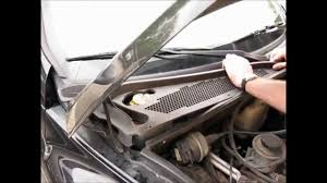 cabin air filter replacement pt cruiser youtube