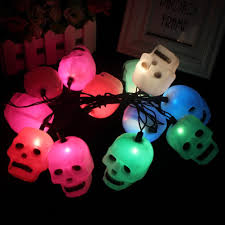 outdoor halloween lighting compare prices on skull string lights online shopping buy low