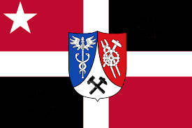 Red White Black Flag The Audiophile Titanic Colony Flags Of Avalon
