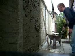 how to cement render a wall tradionally youtube
