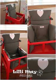 high chair cover cushion pad for baby custom handmade fit ikea