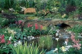 beautiful flower gardens waterfalls garden ideas beautiful flower