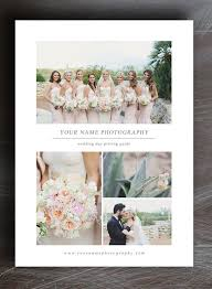 Wedding Album Prices Pricing Guide Template For Wedding Photographers Instant