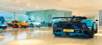 pagani dealership the shanghai car collection cars