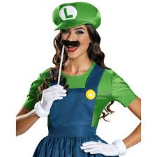 pregnant halloween costumes party city buy super mario womens plus size luigi costume with skirt