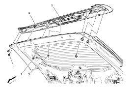 repair instructions rear end spoiler replacement terrain