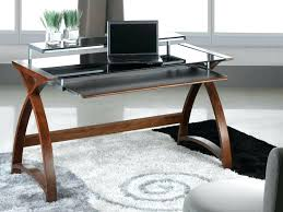 Black And Chrome Computer Desk Glass And Chrome Computer Desk Large Size Of Glass Desk Office