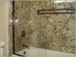 Corian Shower Enclosure Bathroom Amazing Corian Shower Walls Home Depot Veritek Shower