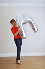 letter balloon 40