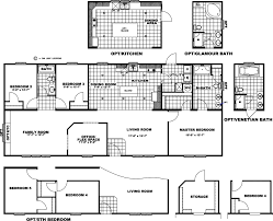 18 x 80 mobile home floor plans freedom homes of opelika al new homes