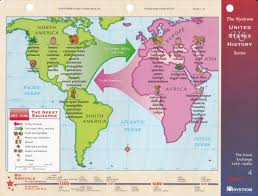 Christopher Columbus Route Map by Columbian Exchange Neh Summer Institute For Teachers