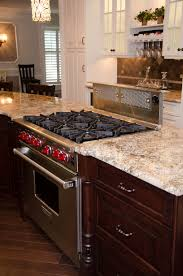 creative kitchen design manasquan new jersey by design line kitchens range and cooktop with downdraft in the island