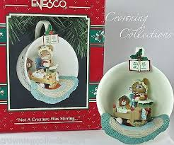 enesco not a creature was stirring cozy cup treasury of christmas