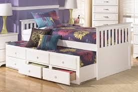 sullivan black twin bed with trundle and storage drawers u2014 loft