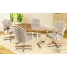 Astonishing Dining Room Chairs With Arms And Casters  With - Caster dining room chairs