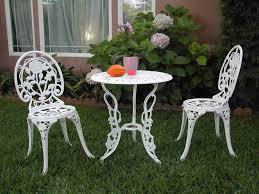 Retro Patio Table by White Aluminum Patio Furniture Set Popular White Aluminum Patio