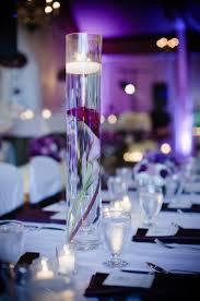 purple centerpieces purple wedding centerpieces decor ideas weddbook
