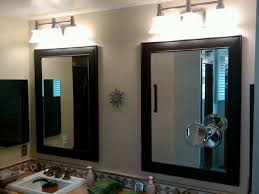 bathroom over mirror light fixtures the welcome house