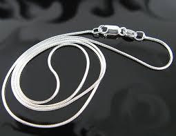 sterling silver snake necklace images 925 polished sterling silver 1 00mm snake chain necklace jpg