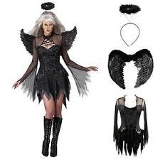 party halloween women dark angel devil costume ghost bar cosplay