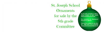ornament sale st joseph school downingtown pa