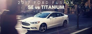 difference between ford fusion se and sel comparison archives sherwood ford